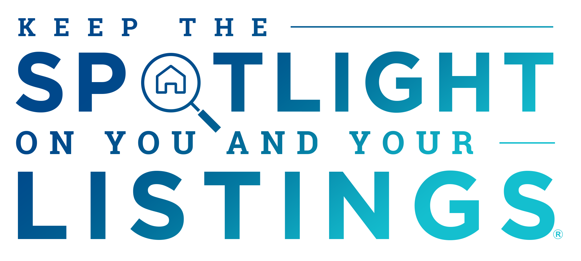 keep the spotlight on your real estate listings